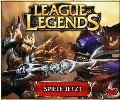 League of Legends. Hier gelangst du zum kostenlosen Downloadgame.